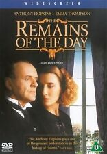 The Remains Of The Day Anthony Hopkins, Emma Thompson, John Haycraft NEW R2 DVD
