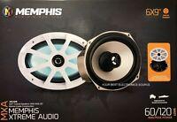 "NEW Memphis Audio MXA69L 6x9 Marine Audio 2-Way Speakers 6""x9"" w/ LED Lighting"