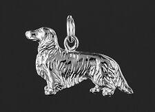 Pendentif  TECKEL Poil Long  -  Pendant DACHSHUND DOG