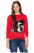 Isabella's Closet Women's Raccoon Ugly Christmas Sweater, XL, NWT