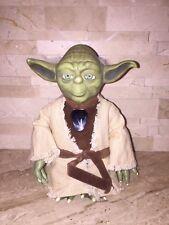 Tiger Electronics Talking Star Wars Yoda Figure Used