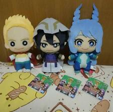 My Hero Academia Plush Doll 3 set Mirio Tamaki Nejire Hado BANDAI JAPAN 2019