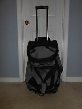 Sports Plus Olympia Cargo Duffle Bag Suitcase on Wheels Travel Compartments