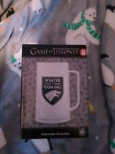 Official Licensed Game of Thrones Freezer Tankard - Winter is Coming - NEW!!
