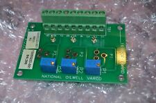 National Oilwell Varco 10055223-001 Trimpot Board