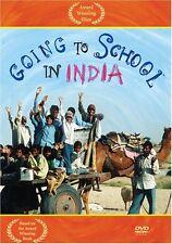 Going to School in India DVD (English, Spanish, Hindi) V/G