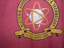 Men's 3XL Spider-man Midtown School of Science  Disney Tee Shirt NWT XXXL