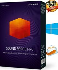 MAGIX Sound Forge Pro 14 SUITE Windows FULL VERSION  LIFETIME LICENCE FAST