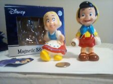 Disney Pinocchio Salt And Pepper Shakers, Magnetic