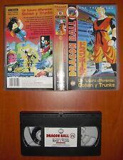 Dragon Ball Z - Un Futuro Diferente [Anime VHS] Manga Films, Versión Española