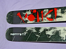 VOLKL Mantra 191cm All-Mountain Full-Camber Alpine Downhill SKIS no bindings ❅ ❆