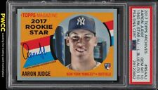 2017 Topps Archives '60 Stars Blue Aaron Judge RC PSA/DNA AUTO /75 PSA 10 (PWCC)