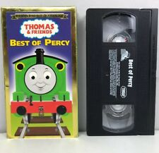 Thomas the Tank Engine Best of Percy VHS Tape AB1252 Train Collector Edition