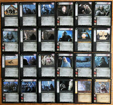 Lord of the Rings CCG The Two Towers Rare Cards Part 2/3 LotR TCG