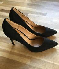 Escarpins chaussures femme 37 Noir, Daim Jamais Porté