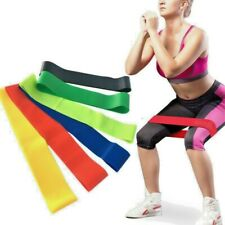 5pcs Heavy Training Fitness Resistance Bands Exercise Gym Bands Pilates Sport