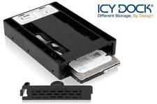 """New ICY Dock MB882SP-1S-3B 2.5"""" to 3.5"""" SSD SATA Hard Drive HDD Converter"""
