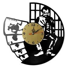"NEW  Vinyl Record Wall Clock ""Batman: Joker #4"", modern decorative art ~ 12"""