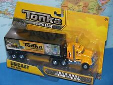 "TONKA BIG RIGS LONG HAUL SEMI TRUCK 8"" (20cm) DIECAST ***BRAND NEW & VHTF***"