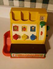 Fisher Price Vintage 1975 Preschool Cash Register #926 - No Coins