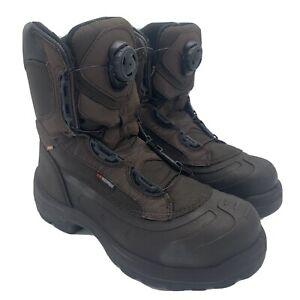 Red Wing Metguard BOA 4440 Waterproof Steel Toe Work Boots Mens Size 8