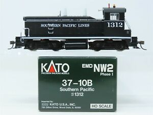 HO Scale Kato 37-10B SP Southern Pacific NW2 Diesel Locomotive 1312 DOES NOT RUN