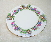 "Crown Staffordshire, Evangeline's Acadian Gardens, 10 1/2"" Dinner Plate"