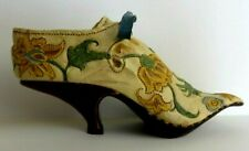 Just The Right Shoe Item 25002 Brocade Court Dated 1998 Yellow Flowers #0074