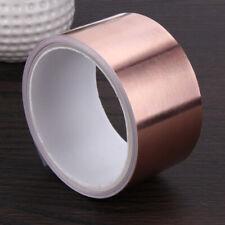 5.5 Meters 5 cm Double Conductive Adhesive EMI Shielding Copper Foil Tape #K