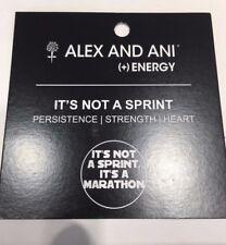 Alex & Ani It's Not A Sprint RG CBD12SMRG