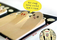 Adhesive 200 pages Paper Fingers Sticker Bookmark Memo Sticky Note Pad LWC