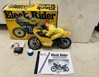 Kraft Kyosho eleck Rider KAWASAKI 1:6 Scale RC Motorcycle 1979