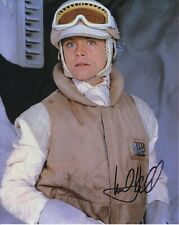 Mark Hamill Luke Skywalker autographed 8x10 photograph RP
