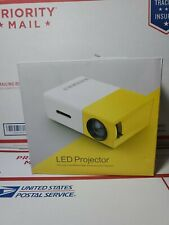 DeepLee Mini Projector, DP300 Portable LED Projector support PC Laptop USB Stick