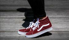 Vans SK8 Hi Madder Brown/True White Men's Classic Skate Shoes Size 11