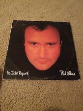 Phil collins no jacket required vinyl Lp Record