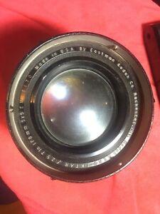 Kodak Aero Ektar 7in f2.5 As Is No Return