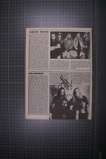 More details for slayer signed by original line-up magazine page
