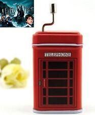 British Telephone hand Crank Music Box : Harry Potter Hedwig's Theme