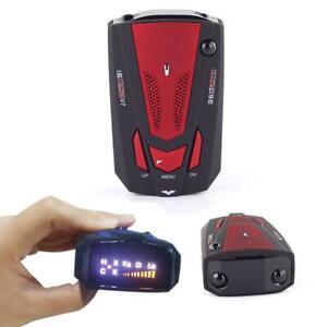 Camera V7 Radar Detector Cop Cars Police Scanner Kit 360degree