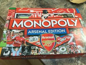 Arsenal Football Club Official Limited Edition Monopoly Game