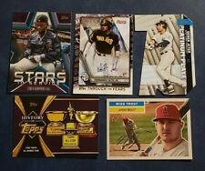 2021 Topps Series 1 Inserts with Hall of Famers You Pick Trout Judge Acuna