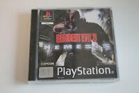Resident Evil 3: Nemesis Sony Playstation 1 PS1 PAL