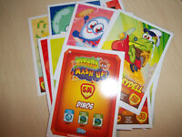 MOSHI MONSTERS MASH UP  series 2  Pick 2 CARDS  NEW  MINT
