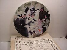 Opening Day At Ascot collectable plate