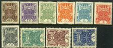 Tannu Tuva. Year 1926. Sc. 1-10. MLHOG. SCV $40.25.