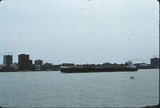 1978 Barge Traveling on River - Original 35mm Slide