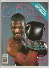 THE RING MAGAZINE MICHAEL SPINKS BOXING HOFer COVER DECEMBER 1985