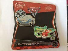Finn McMissle & Francesco Bernoulli Limited Edition Le 350 Disney Pins Cars 2011
