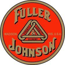2 Official Fuller Amp Johnson Water Slide Off Decals